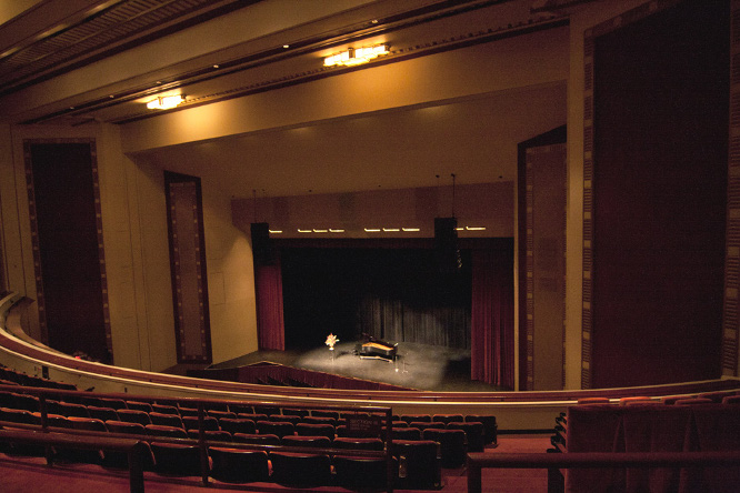 Contact US >> Balcony Floor | Adler Theatre
